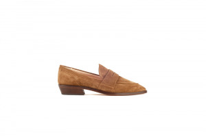 AGL cognac dames loafer 157.39.009