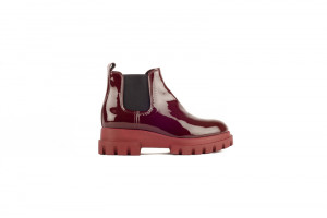 AGL rode chelsea boots met chunky zool 171.51.006