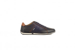 Hugo Boss blauwe heren sneaker 253.41.101