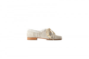 Pertini witte dames veterschoen 155.26.005