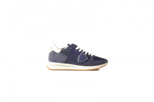 Philippe Model blauwe dames sneaker 153.45.149