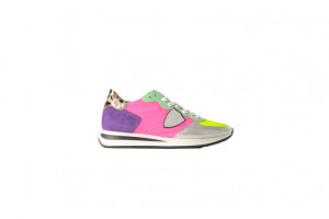 Philippe Model dames sneaker in neon kleuren 153.54.003