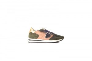 Philippe Model groene dames sneaker 153.76.059