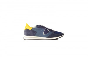 Philippe Model blauwe heren sneaker 253.45.148