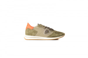 Philippe Model groene heren sneaker 253.75.148