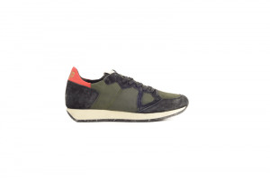 Philippe Model groene heren sneaker 253.75.220