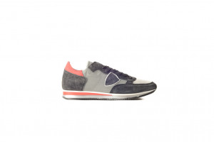 Philippe Model grijze heren sneaker 253.95.054