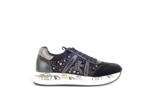 White Premiata, Dames sneakers
