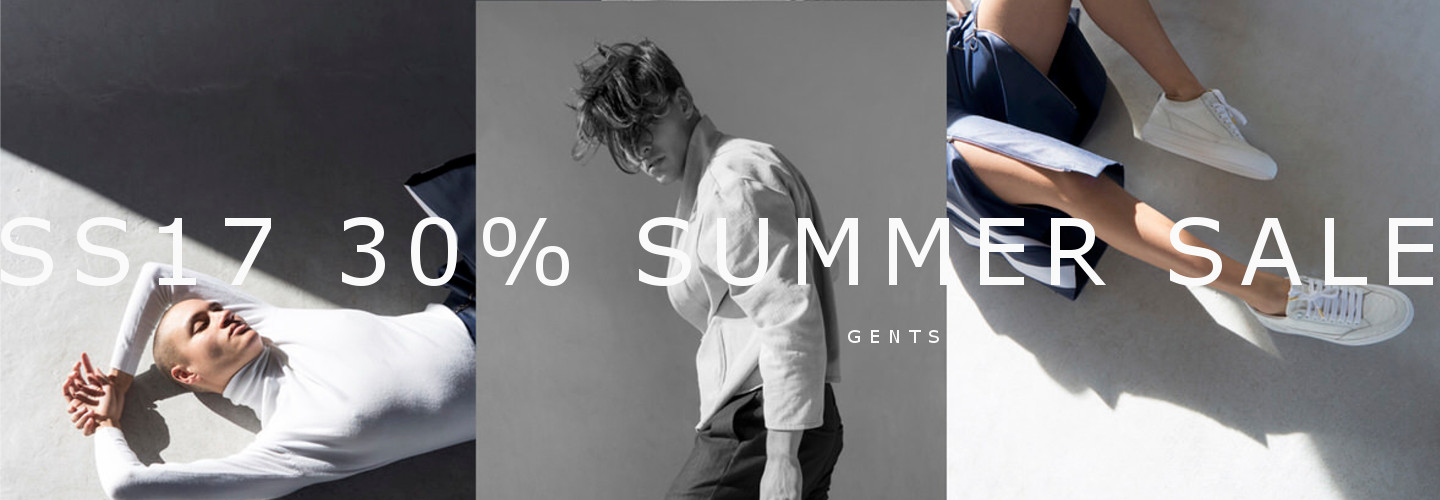 SS17 SALE 30% gents collection