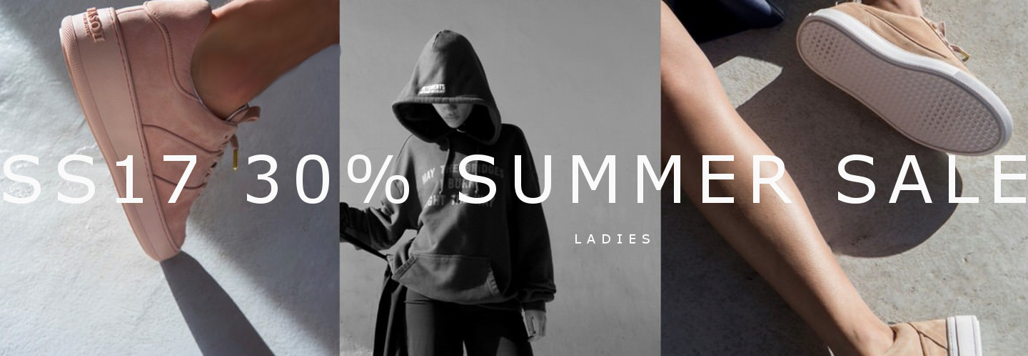 SS17 SALE 30% ladies collection