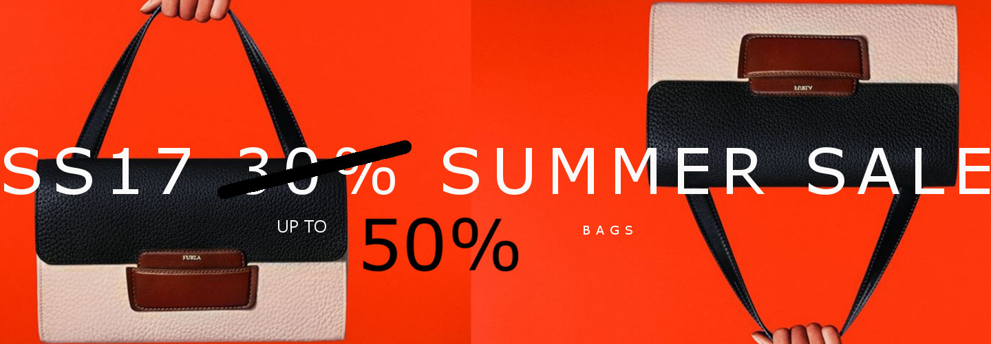 SS17 SALE 50% bags collection