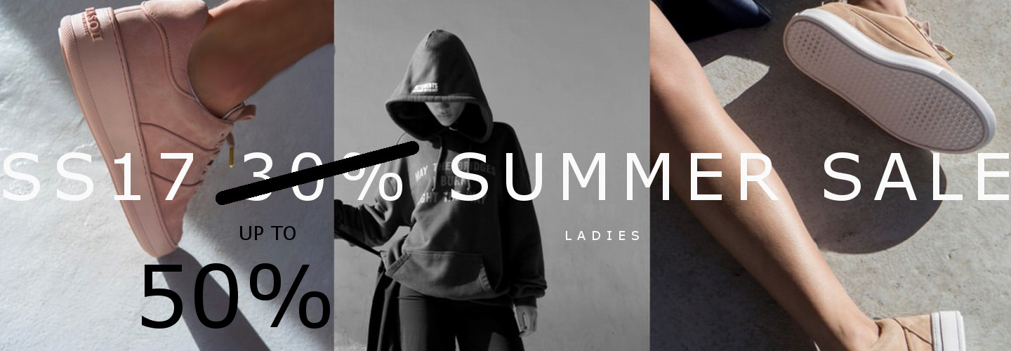 SS17 SALE 50% ladies collection