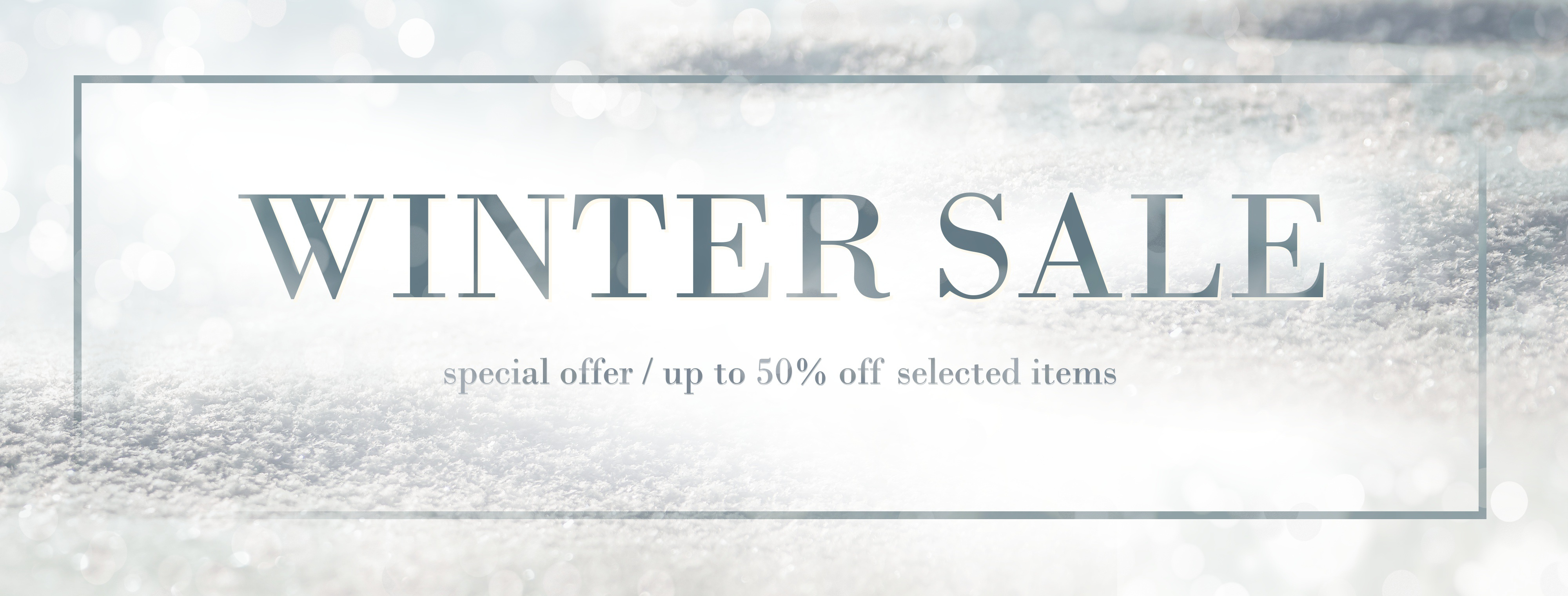 Winter Sale Bastiaans